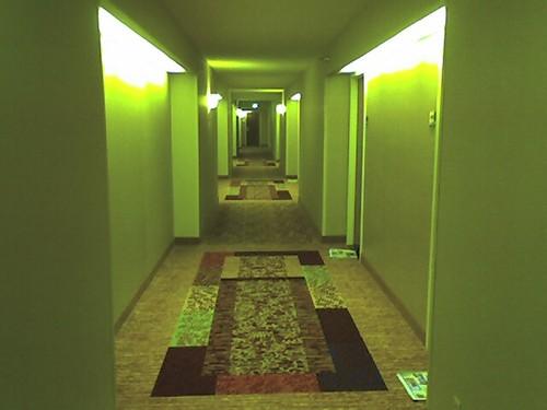 Marriott Hotel in San Francisco courtesy of Hotel Hallways