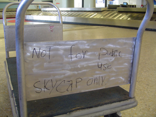 Not for public use. Skycap ONLY by DrBaloney at flickr