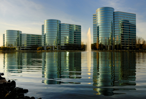 oracel headquarters in redwood shores, ca