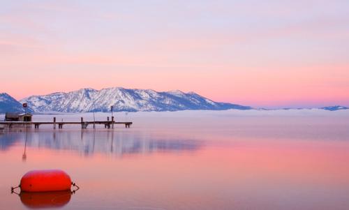 early morning at Lake Tahoe