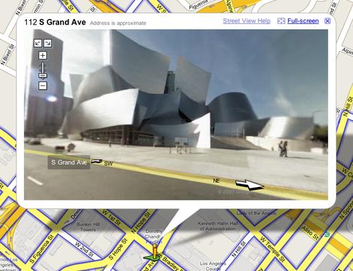 Frank Gehry's Walt Disney Concert Hall in LA