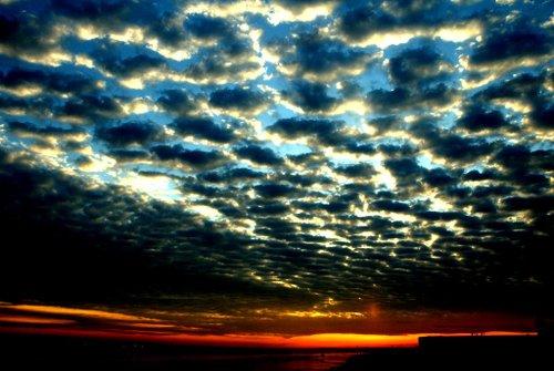 Boston Harbor Sunrise