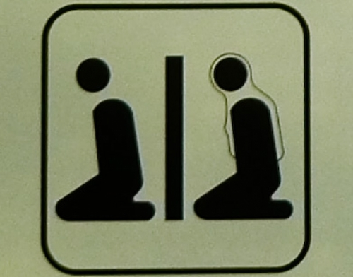 international sign for muslim prayer