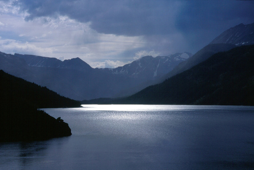 Mystic Lake in the Beartooth Range, Montana