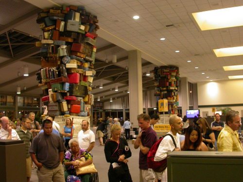 baggage claim at Sacramento International Airport by D.L. at flickr