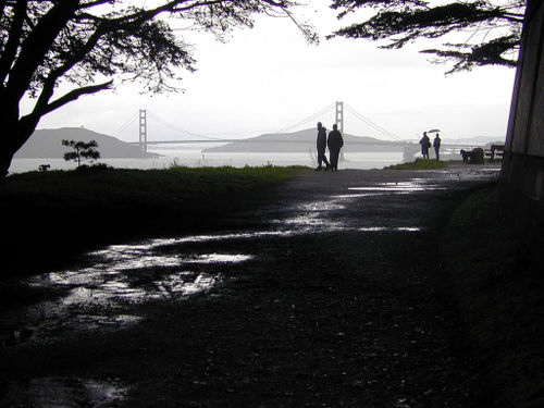Bridge from Lands End by Dawn Endico at flickr