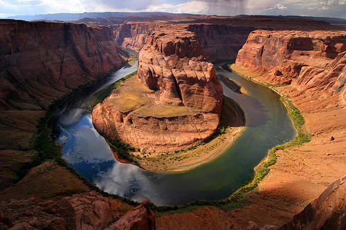 Early Afternoon at Horshoe Bend, Arizona by Brian Klimowski