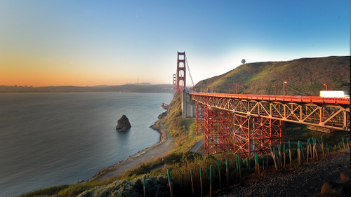 Golden Gate morning by tychay at flickr