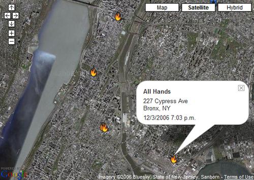 Gothamist map