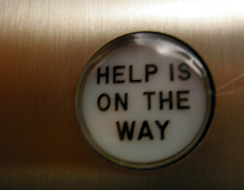 Help Is On the Way by alykat at flickr