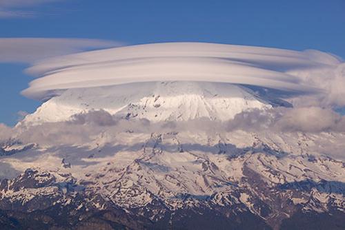 Mount Rainier by Kevin Ebi for Living Wilderness