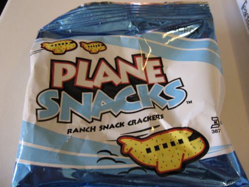 Plane Snacks by Joel Franusic at flickr