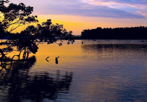 Sunset Fishing by Bob Jagendorf at flickr