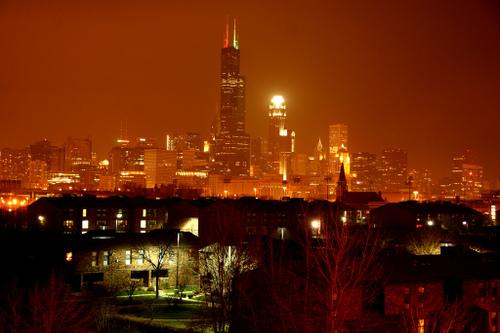 The serenity of night fall by Senor Codo
