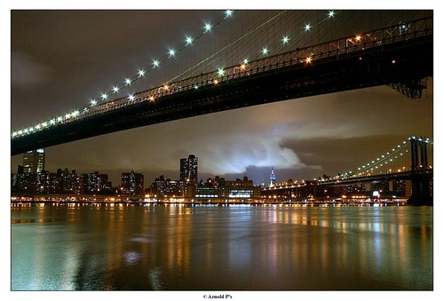 Under the Manhattan Bridge by Arnold Pouteau's